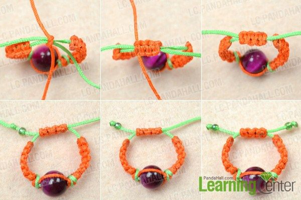 how to make a macrame ring