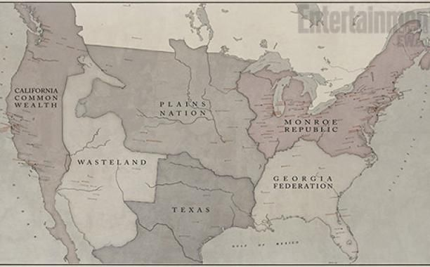 Revolution\': Check out a map of North America 15 years after ...