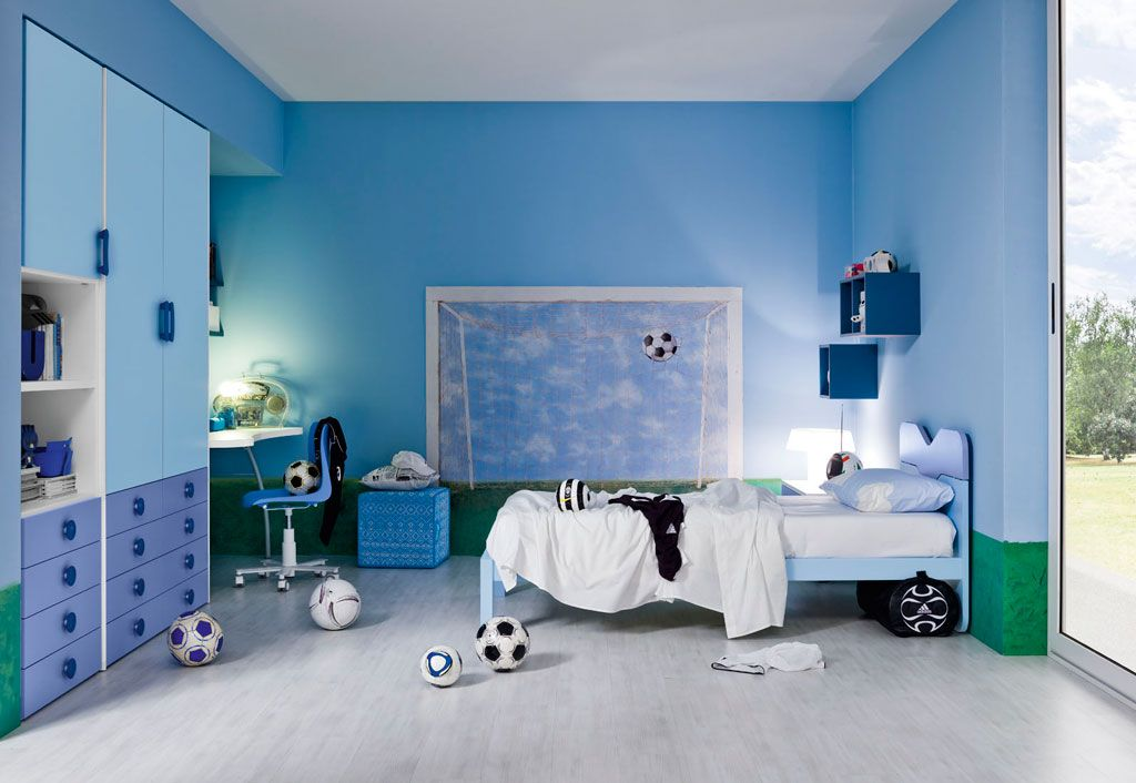 Boys ikea bedrooms boys bedroom soccer theme photo gallery go to article cool boys - Ikea boys bedroom ideas ...