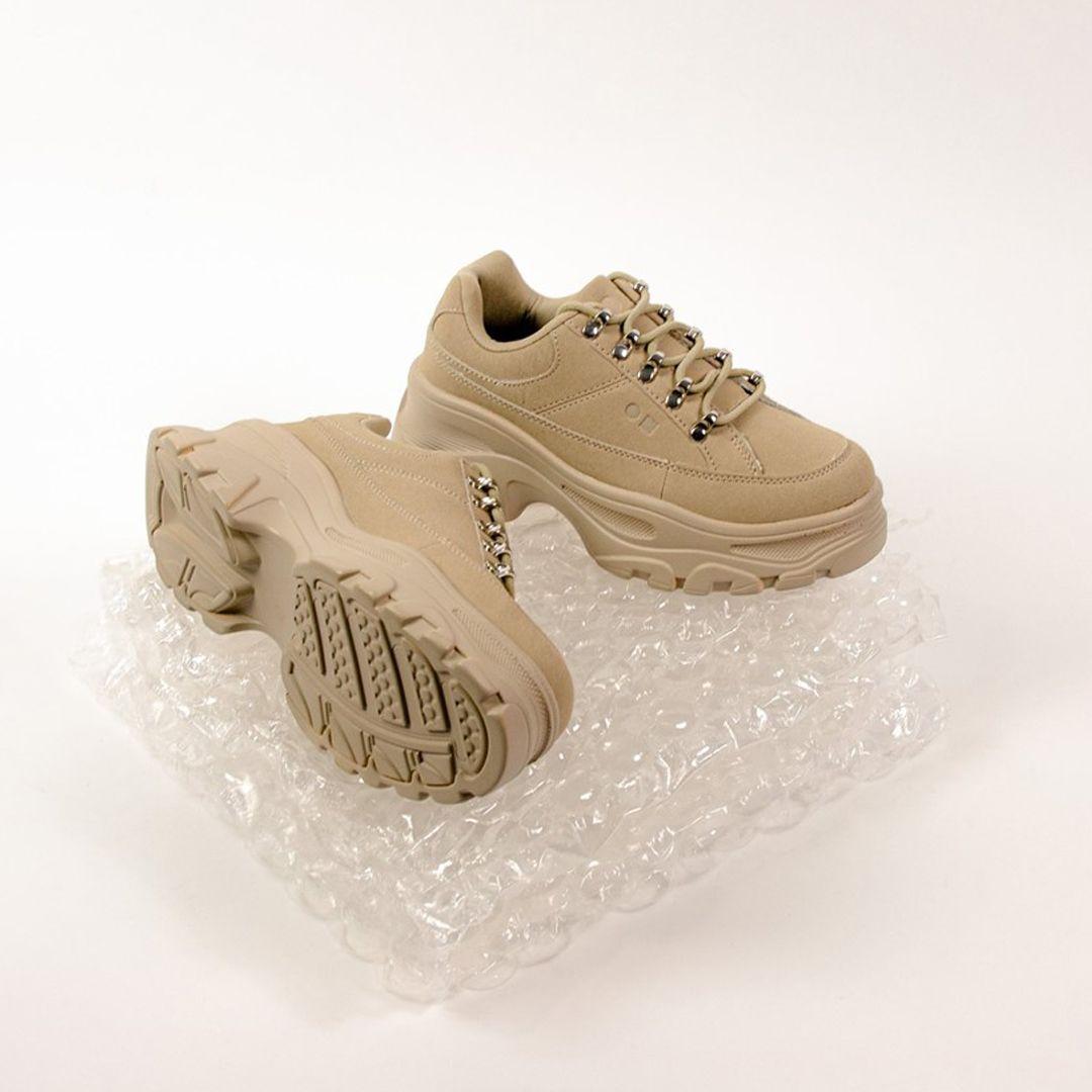 Sneakers con plataforma para mujer Coolway Wander en color