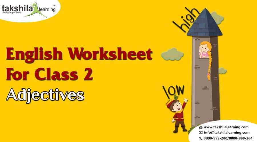 Adjectives Practice Worksheet For Class 2 English Grammar Adjectives For Class 2 Worksheet For Class 2 Practices Worksheets Adjectives Adjectives worksheets for grade icse