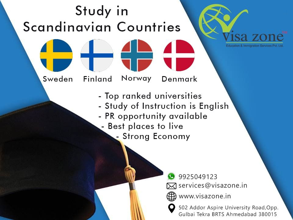 Study In Scandinavian Countries Education University Studying Overseas Education