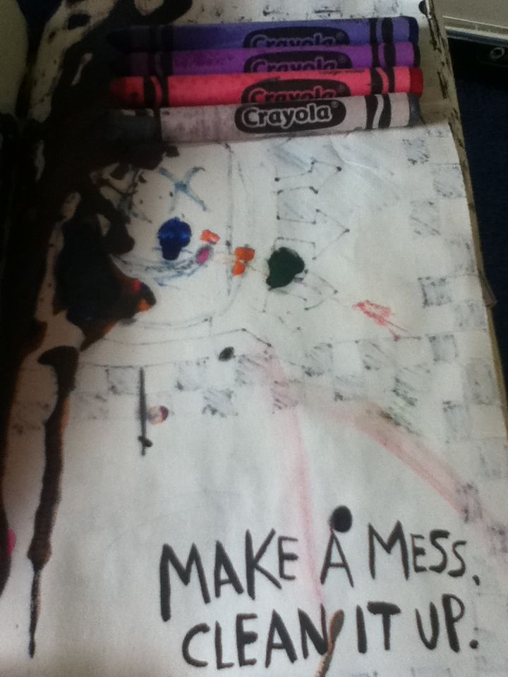 WTJ set 2: make a mess