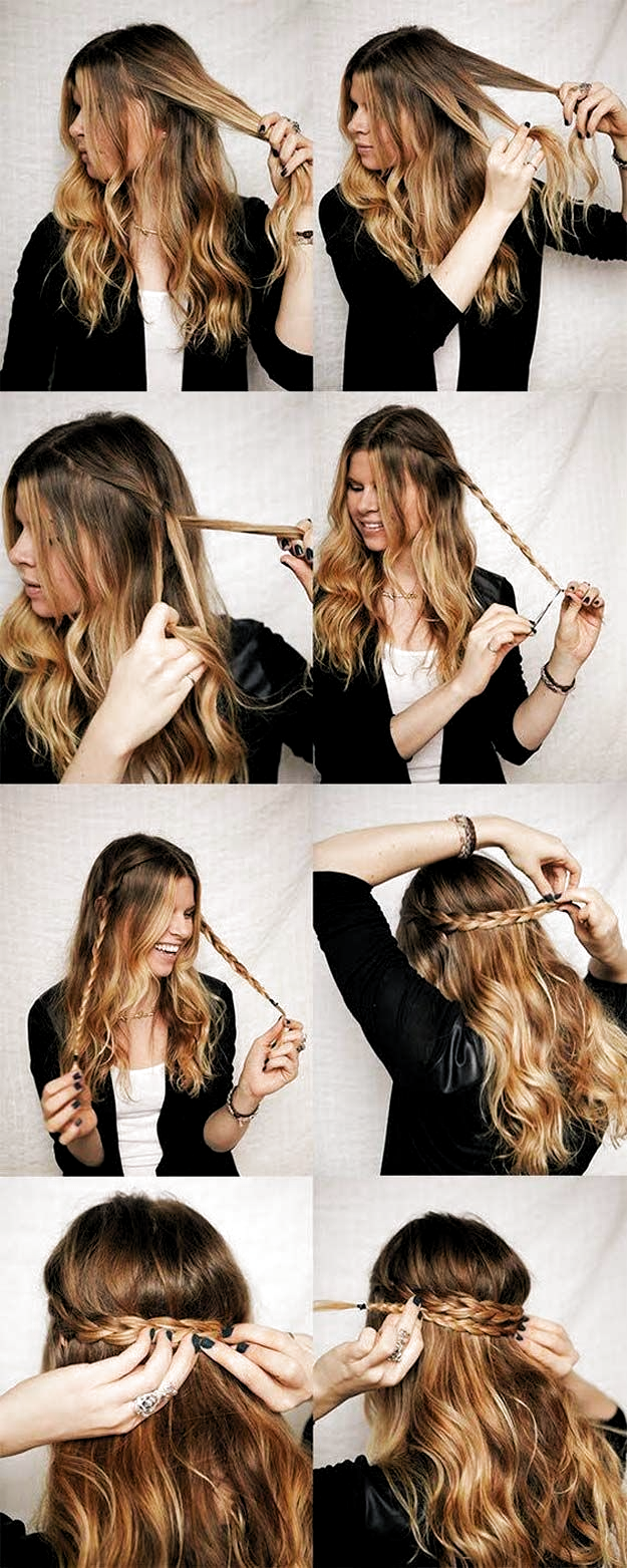Best Hairstyles For Long Hair Quick Hairstyle Step By Step Tutorials For In 2020 Medium Length Hair Styles Hairstyles For Medium Length Hair Easy Long Hair Styles
