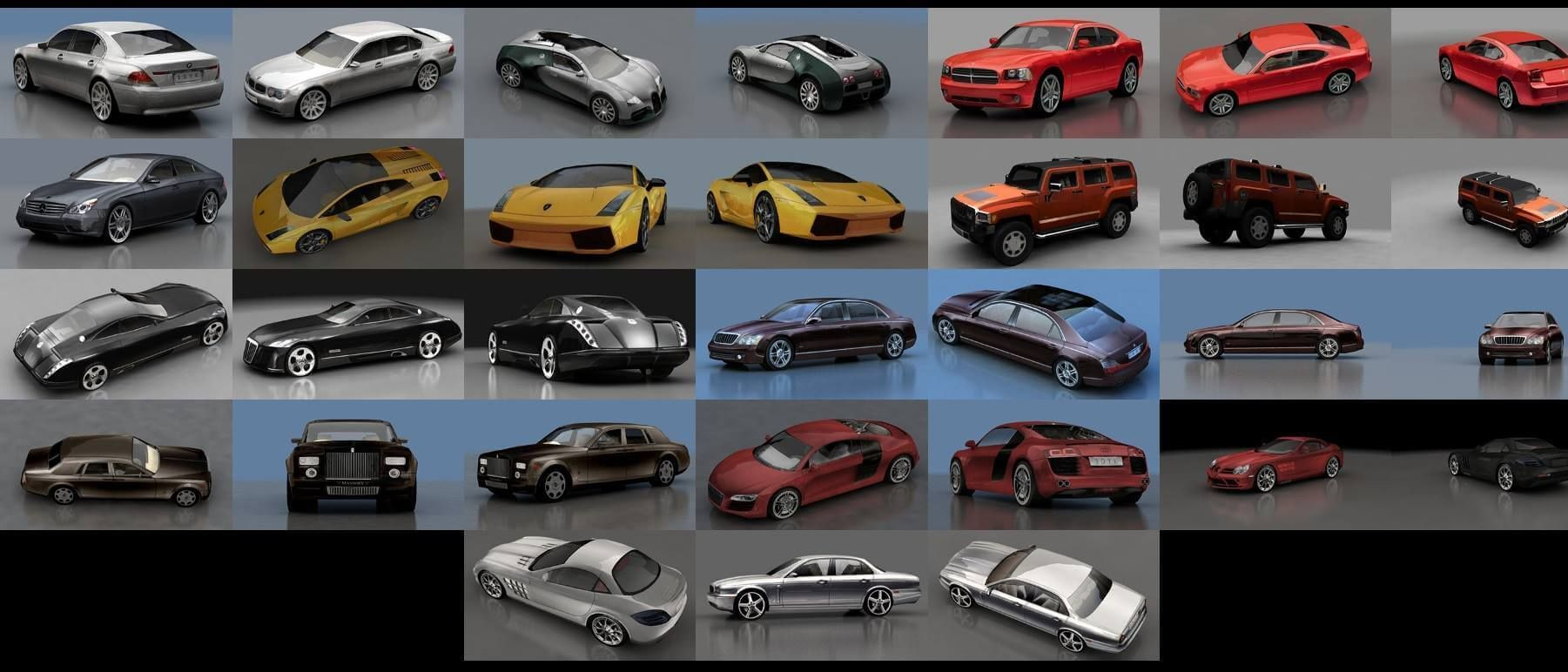 3d Model Low Poly Luxury Cars Free Download Car 3d Model Luxury Cars 3d Model