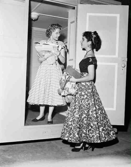 Jane Powell & Elizabeth Taylor