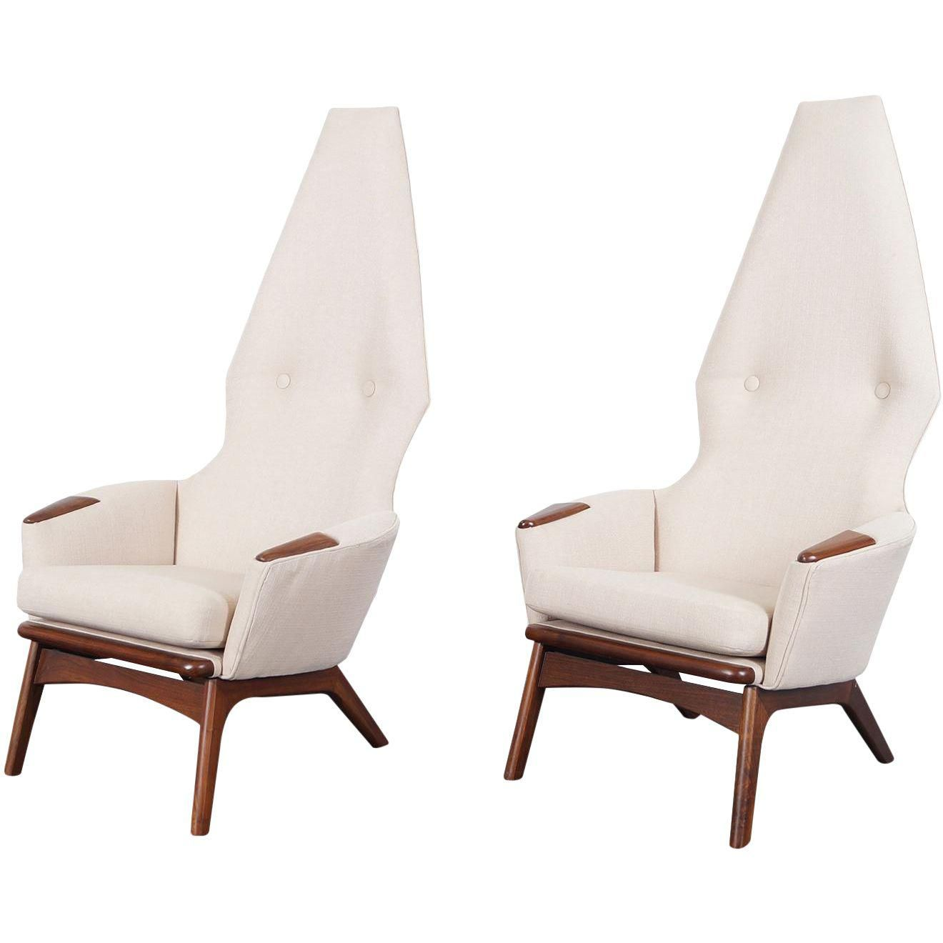Phenomenal Vintage Adrian Pearsall High Back Lounge Chairs A Pair Camellatalisay Diy Chair Ideas Camellatalisaycom