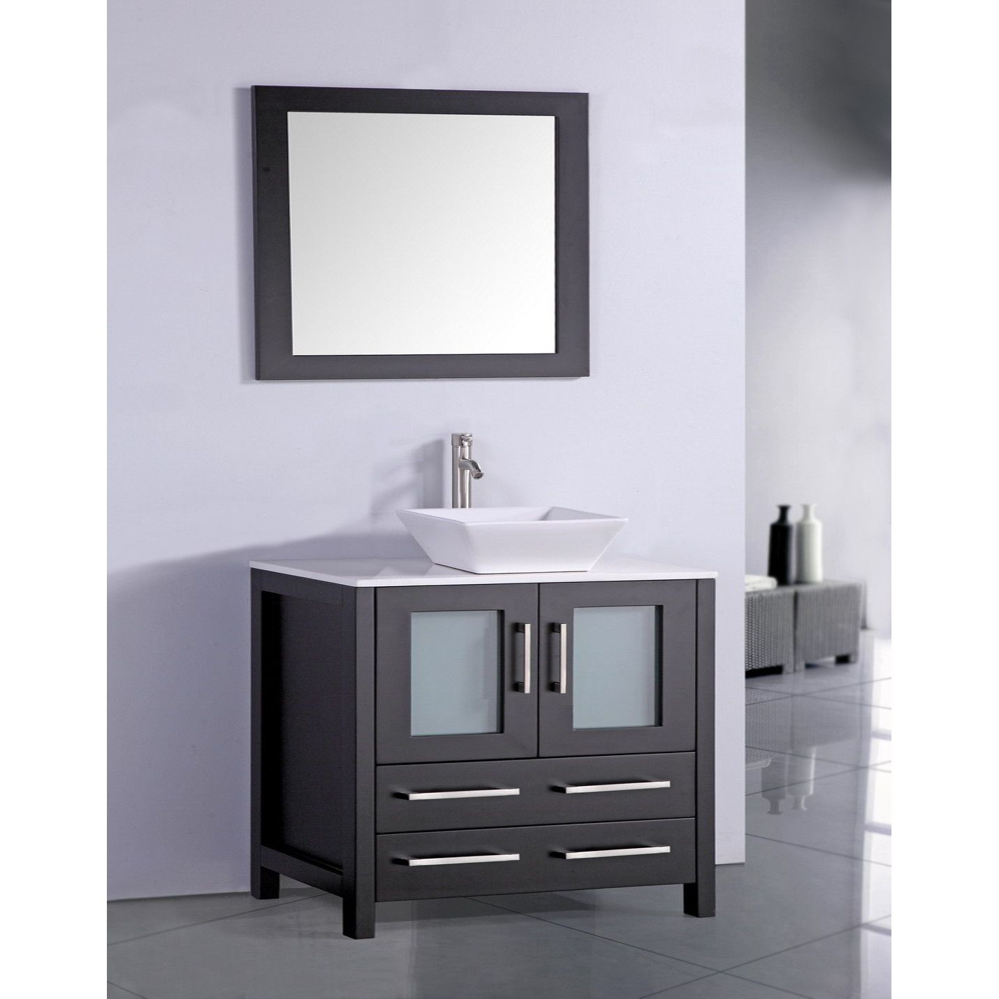 mirror size for 36 vanity. You Ll Love The 36  Single Bathroom Vanity Set With Mirror At Wayfair