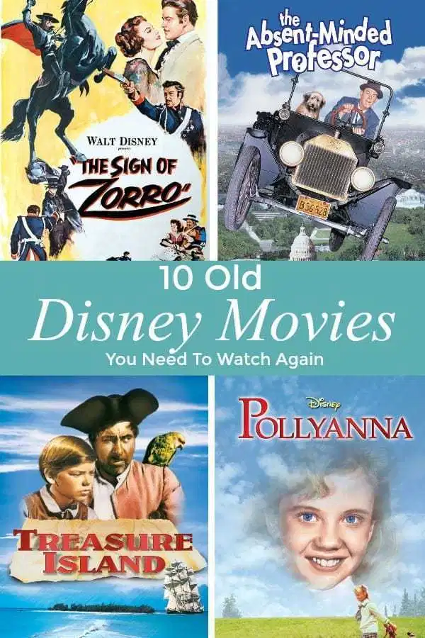 10 Old Classic Disney Movies You Should Watch Again Old