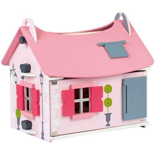 Janod houten poppenhuis