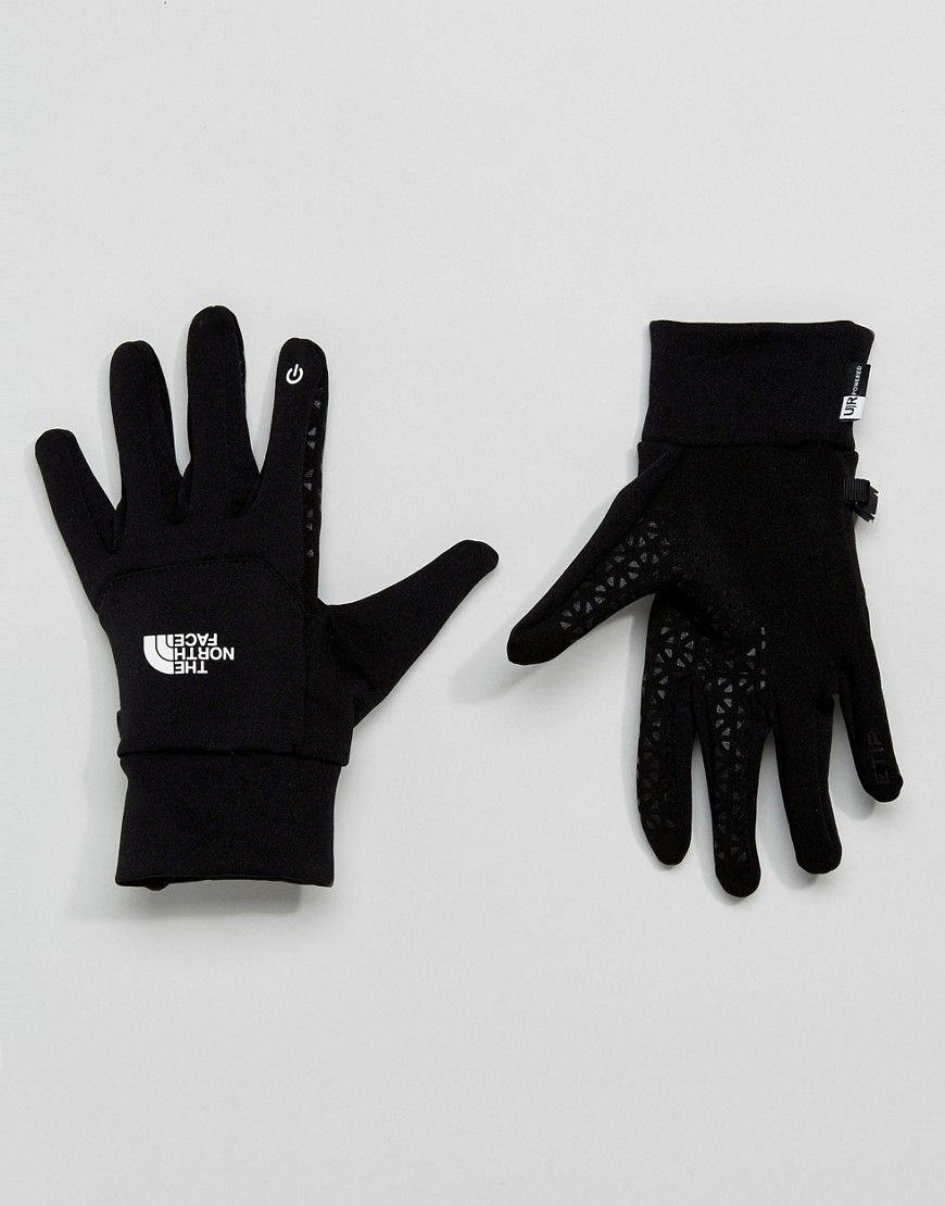 c5d343ddc THE NORTH FACE ETIP GLOVE IN BLACK - BLACK. #thenorthface ...