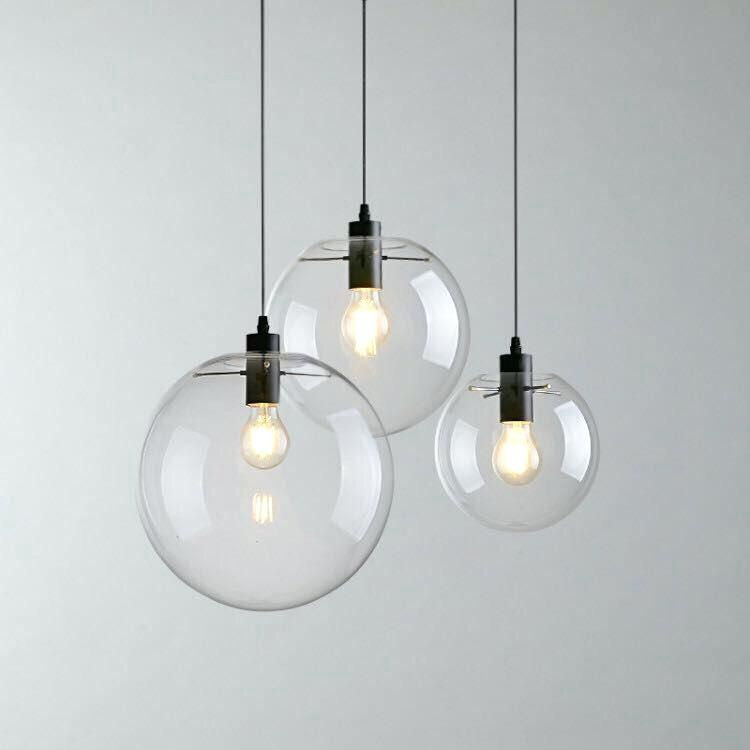 Gl Globe Pendant Chandelier Lights Extraordinary