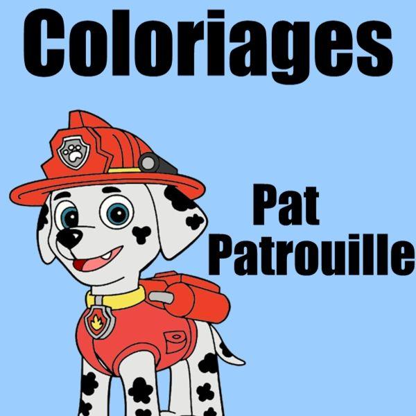 Coloriage Pat Patrouille 30 Dessins à Imprimer Gratuitement
