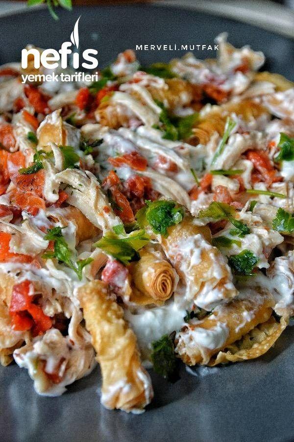 Çıtır Yufkalı Tavuklu Salata Nefis Gün Salatası  Nefis Yemek Tarifleri