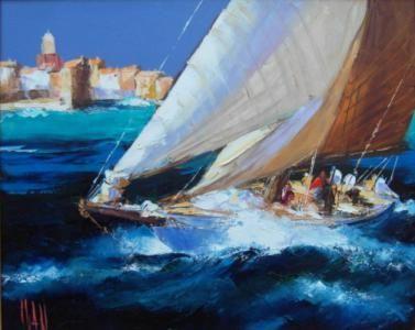 Artistes de saint tropez, peintures, galeries d'art Saint-Tropez Tourisme...