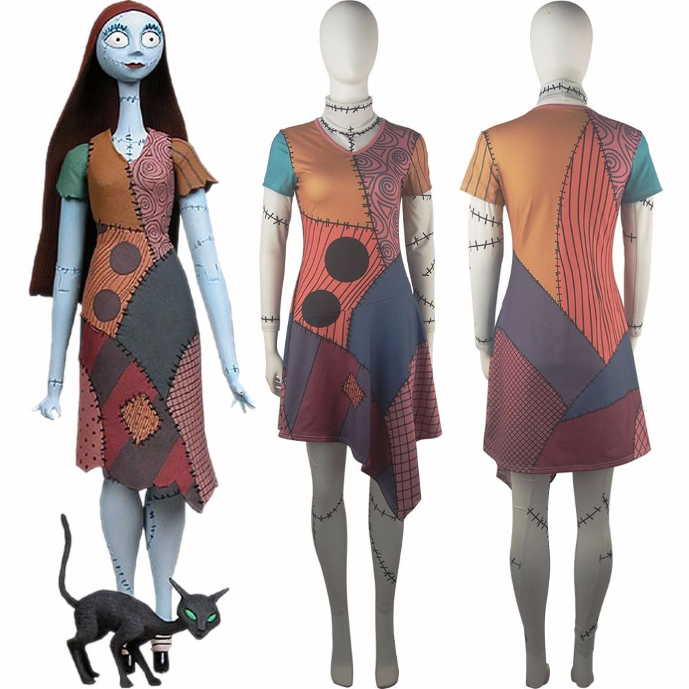 Sally\'s dress reference from Nightmare Before Christmas No encontré ...