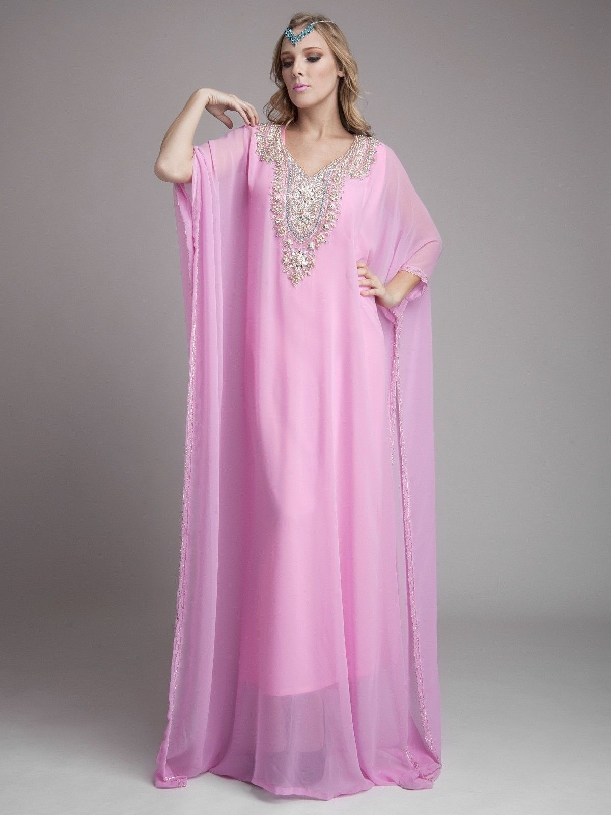 DUBAI VERY FANCY KAFTANS abaya jalabiya Ladies Maxi Dress Wedding ...