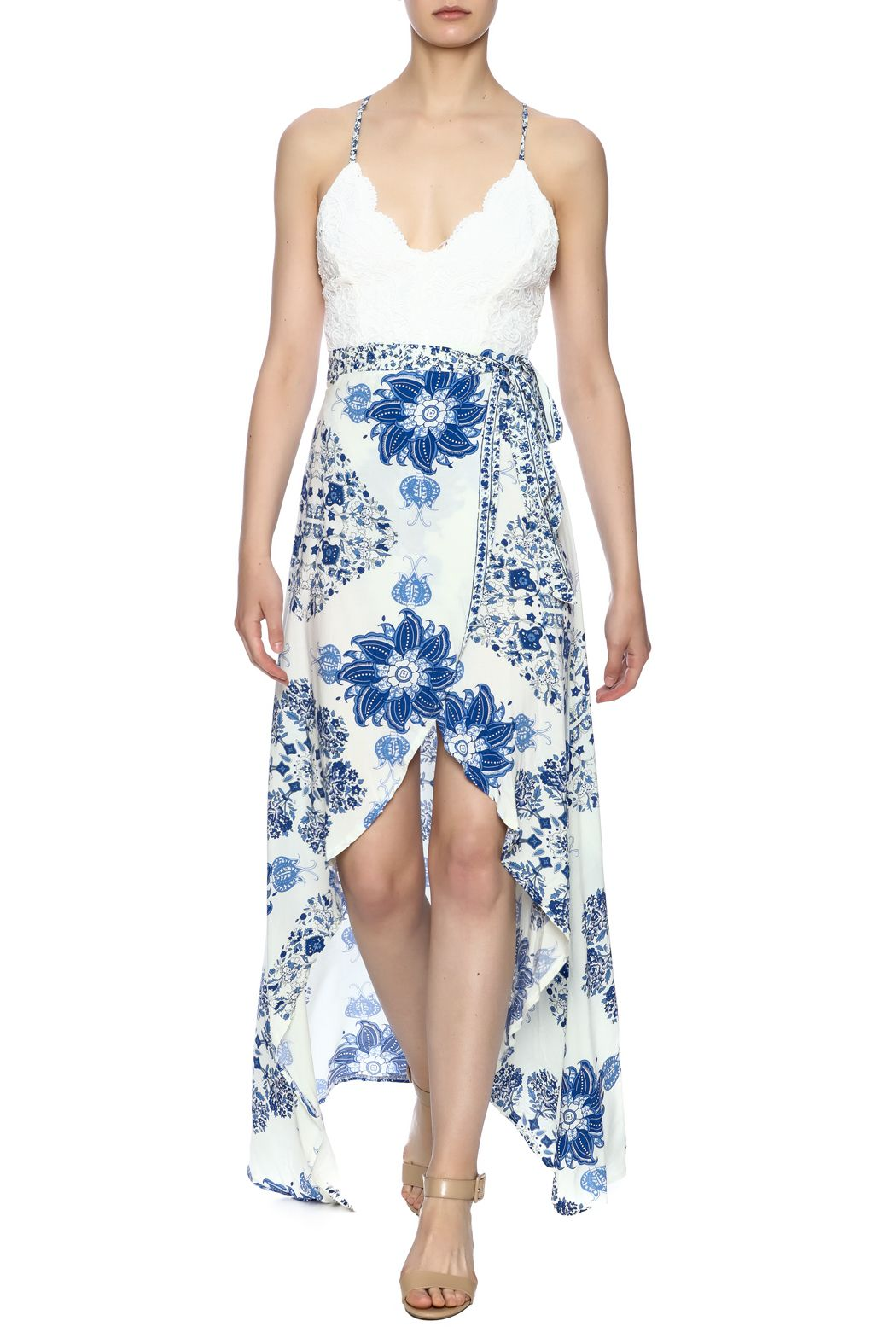 Print Maxi Dress - main
