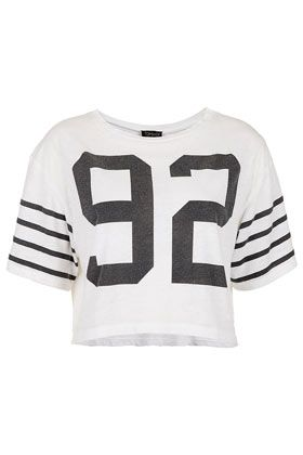 Topshop Number 92 Crop