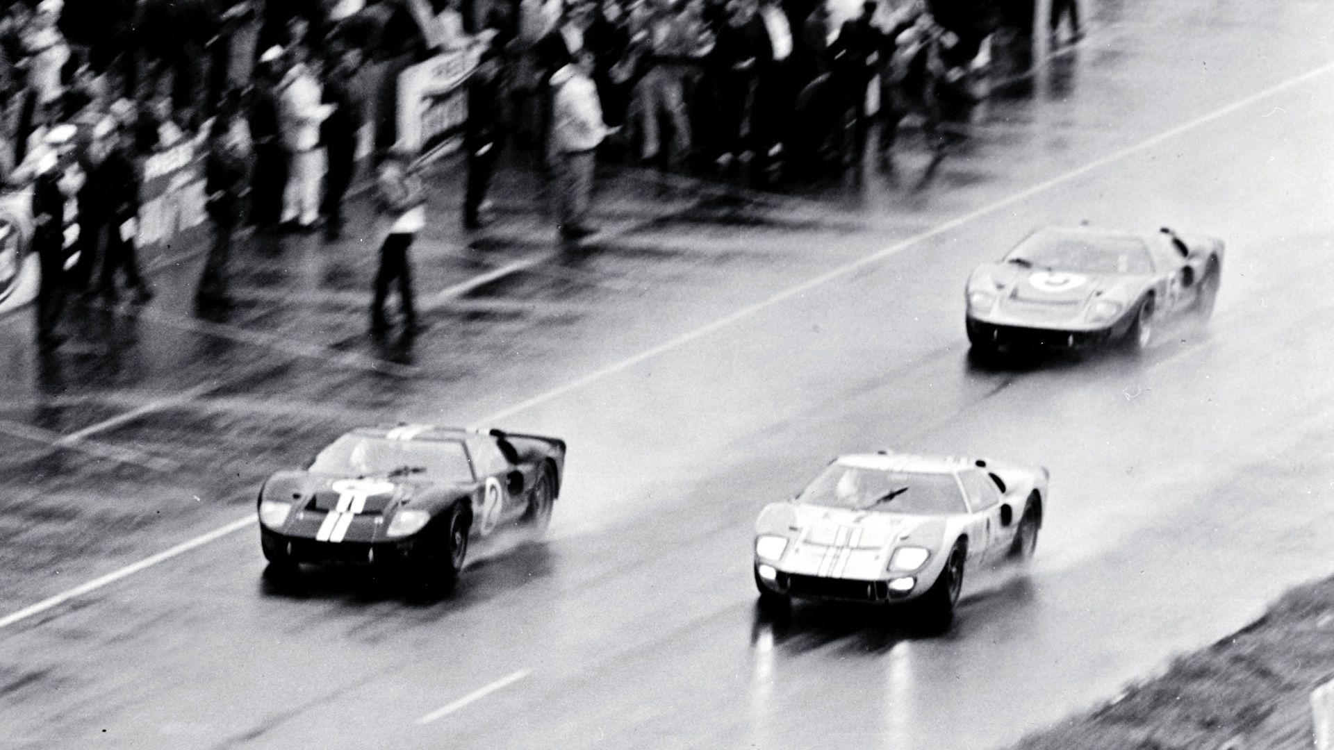 Watch The Bittersweet Story Behind The Ford Gt40 S 1966 Le Mans Photo Finish Ford Racing Ford Gt40 Ford Gt
