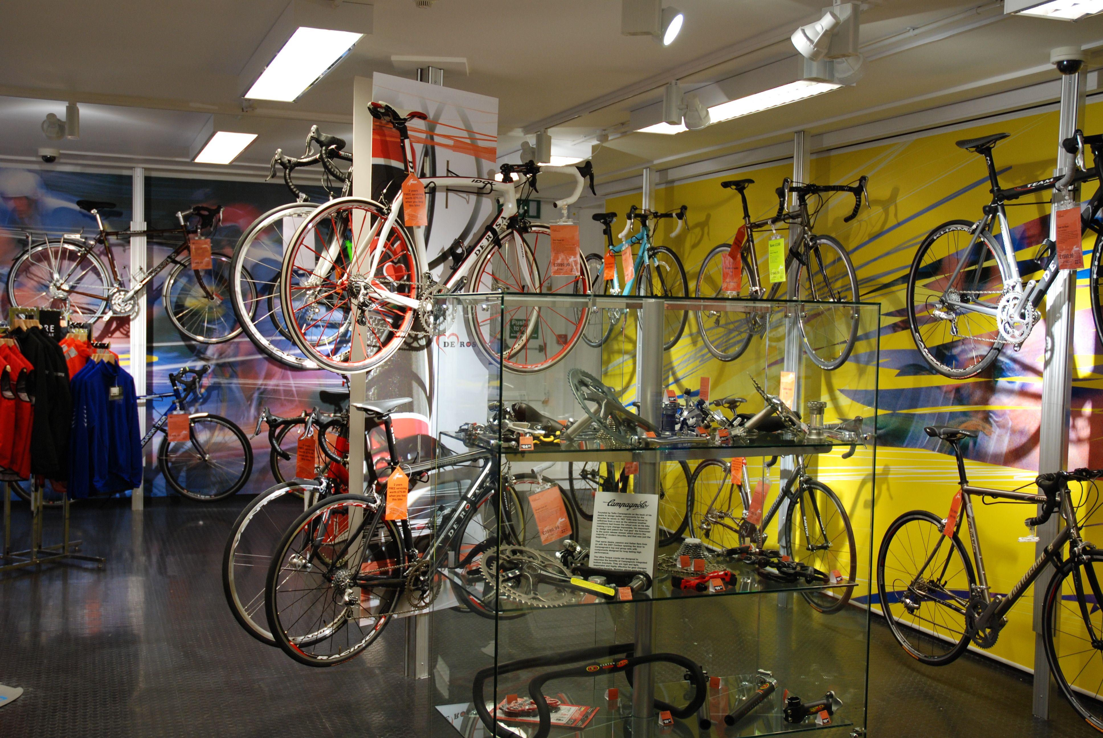 Halfords Bike Hut Interiors Productdisplay Bikes Cycling Bike Stationary Bike Design Projects