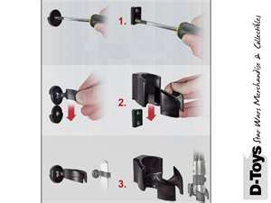Lightsaber Wall Mount Instructions Projecten Om Te Proberen