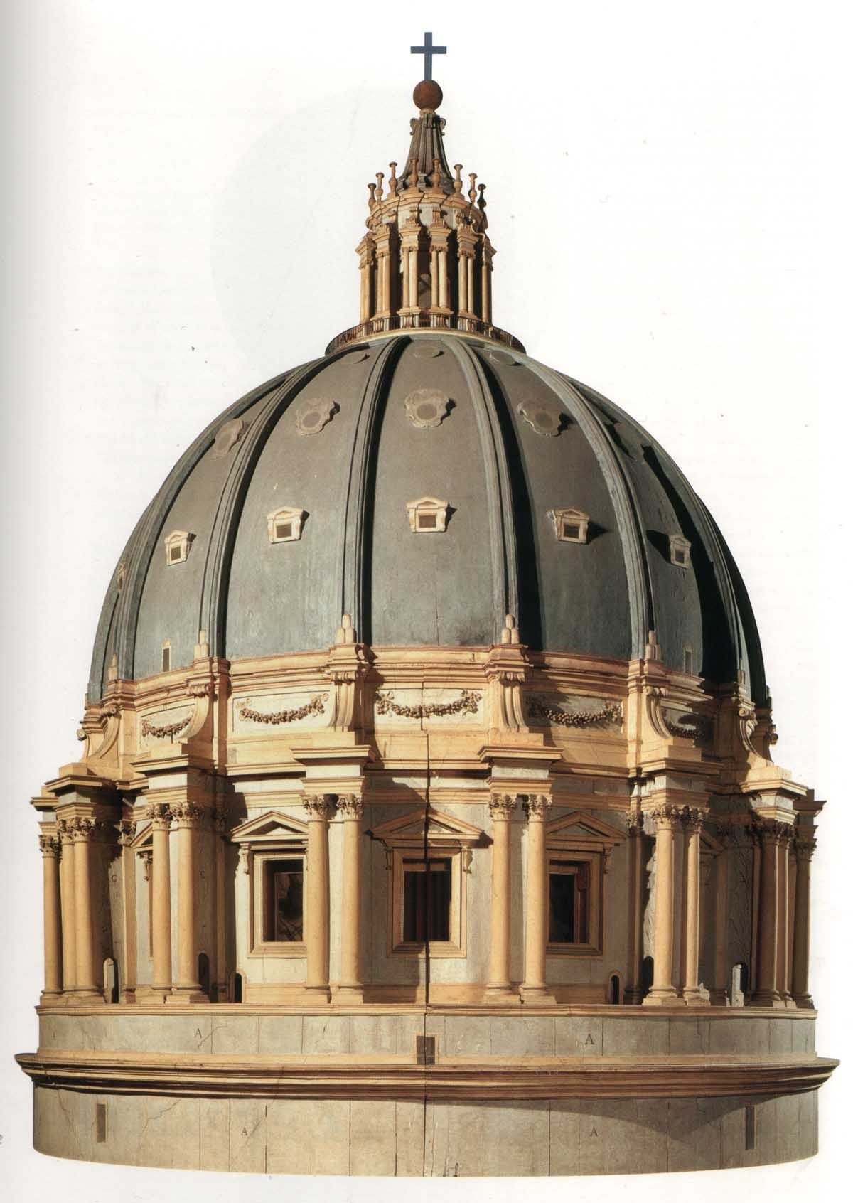 Model for the dome of St Peter's by Michelangelo