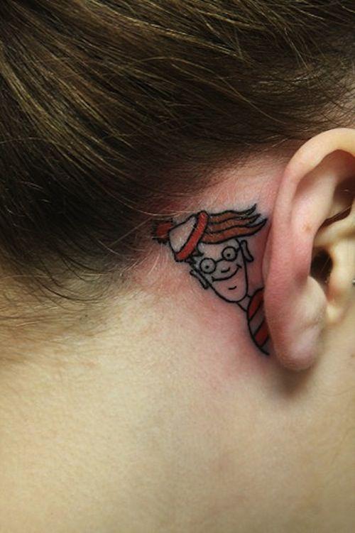 Where S Waldo Beauty Is Only Skin Deep Pinterest Tatouage