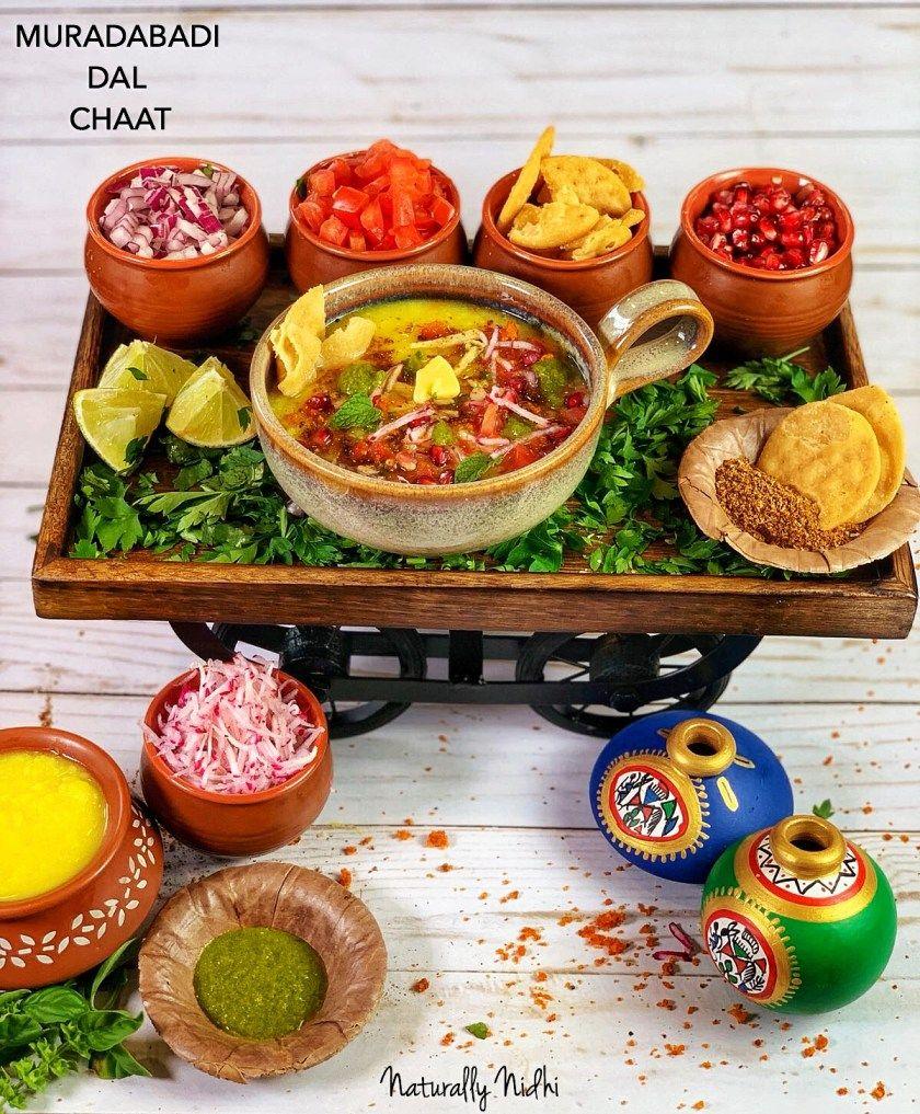 Muradabadi Dal Chaat - Indian Street Food
