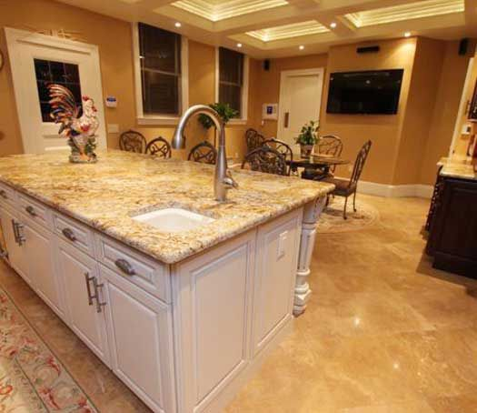 Kitchen Remodel With Island In Little Falls, NJ. Designed By Direct Depot  Kitchens In