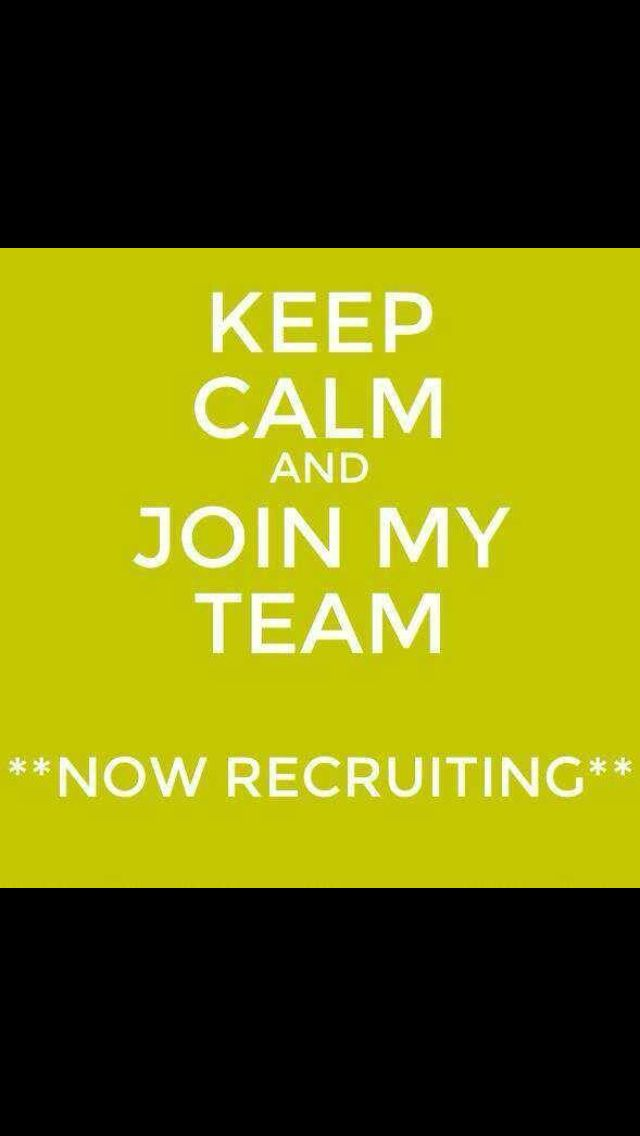 I'm looking for motivated people to join my growing team. For more info inbox me on Facebook   Kirsteen parker.