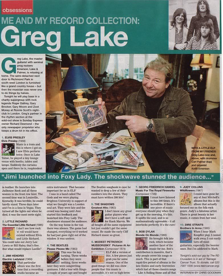 Image result for greg lake live 2005