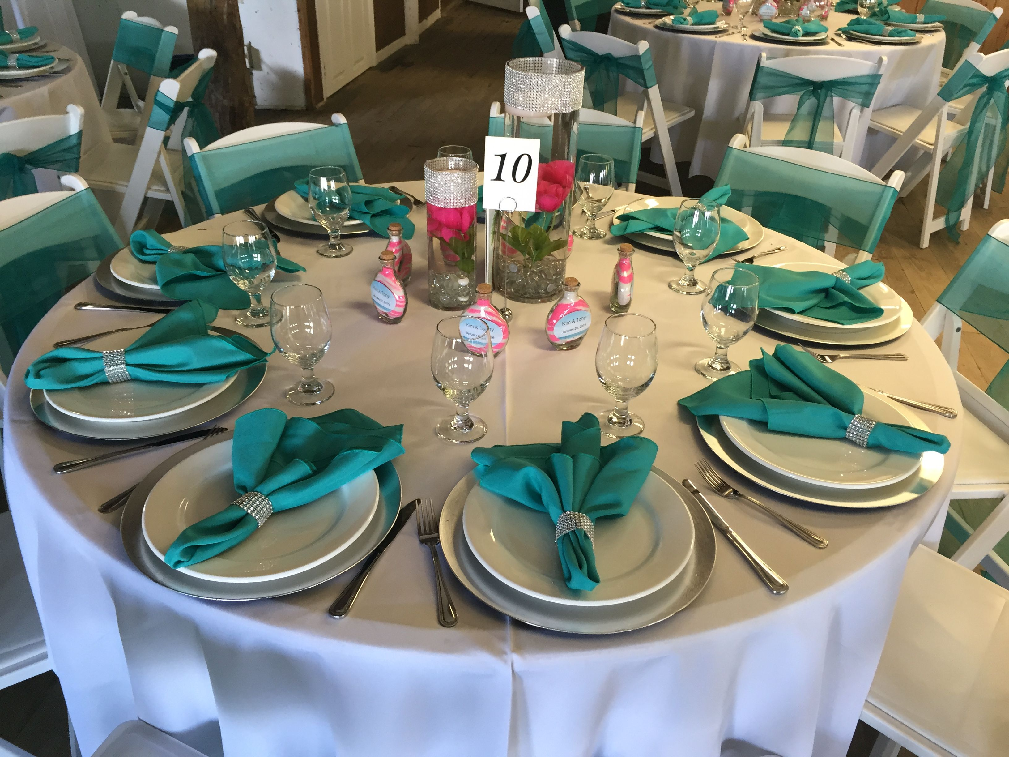 Classic beach themed jupiter civic center wedding