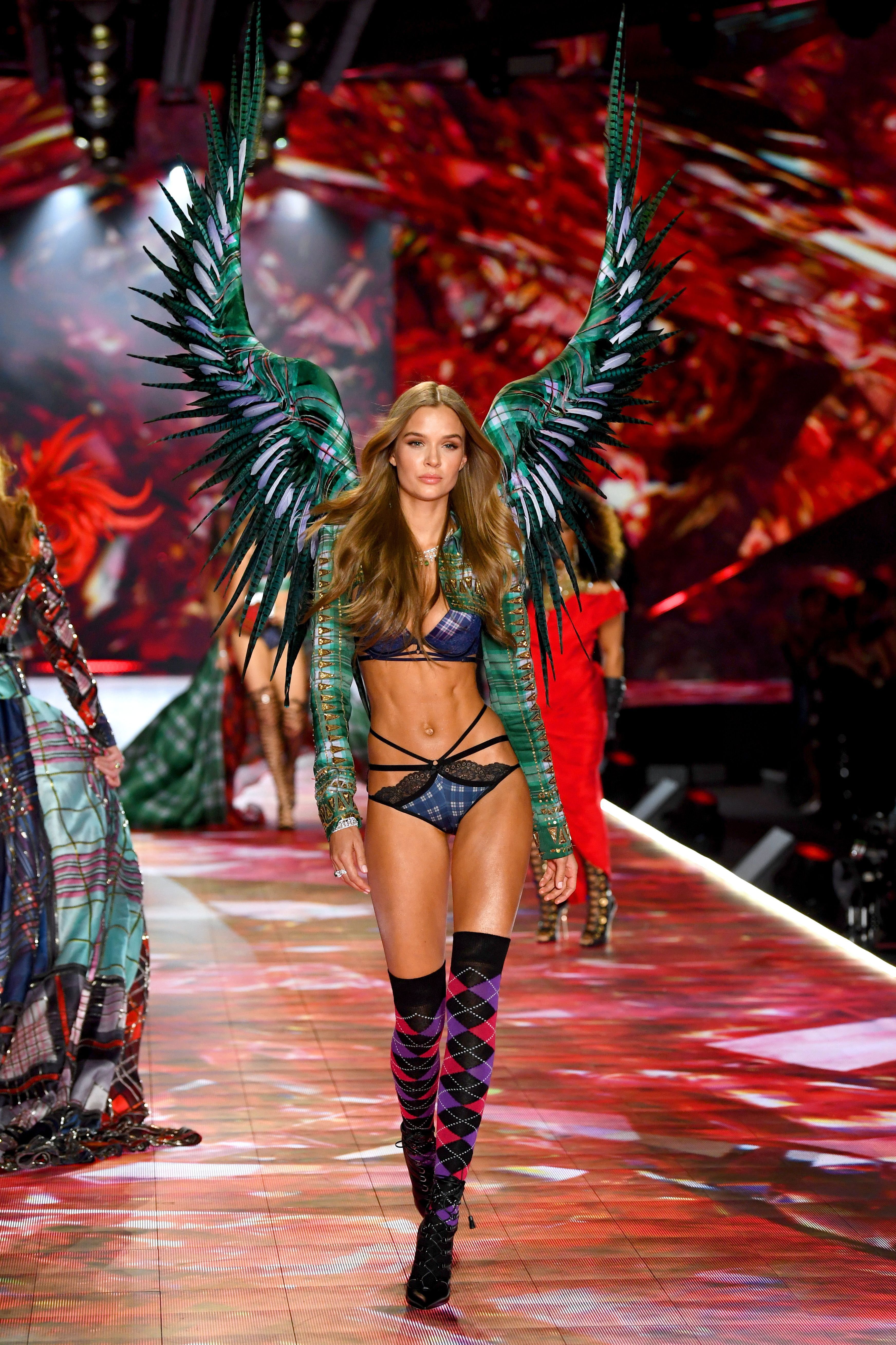 dad5abf3cd1 Josephine Skriver walks the runway during the 2018 Victoria s Secret  Fashion Show.