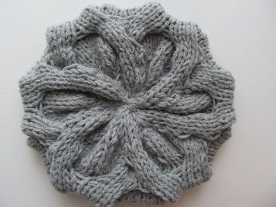 PDF Knitting Pattern Instant Download Chunky Slouchy ...