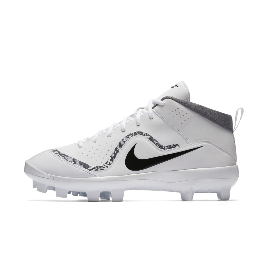 size 40 ae43e 84a35 Nike Force Air Trout 4 Pro MCS Men s Baseball Cleats Size 11.5 (White)
