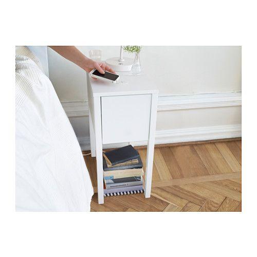 nordli ablagetisch mit ladefunktion ikea henry s zimmer pinterest betten einrichten und. Black Bedroom Furniture Sets. Home Design Ideas