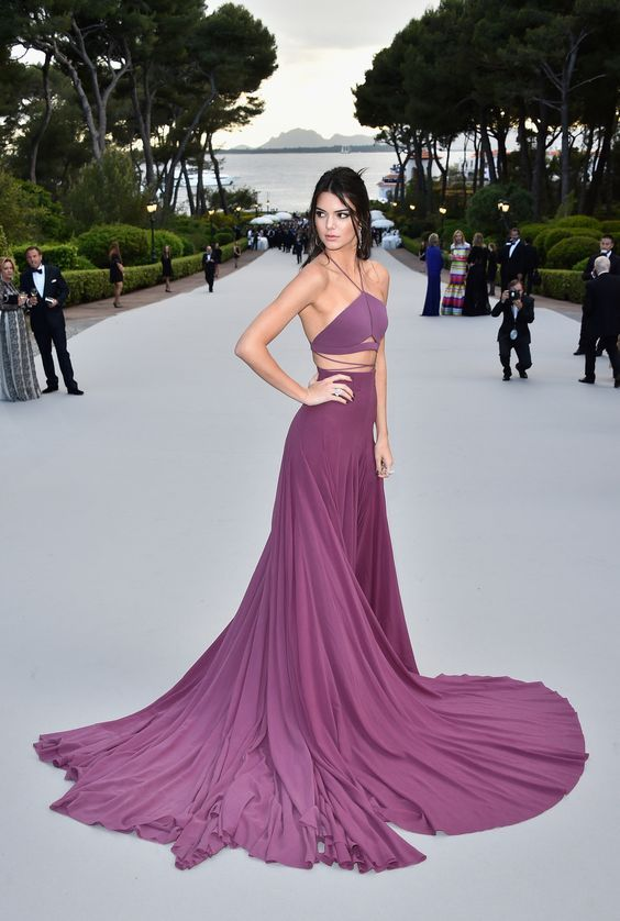 Kendall Jenner Red Carpet Dresses, Cannes Prom Dresses, | Sexy Prom ...