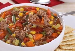 Photo of Detoxifying minced meat soup – prepared in a flash