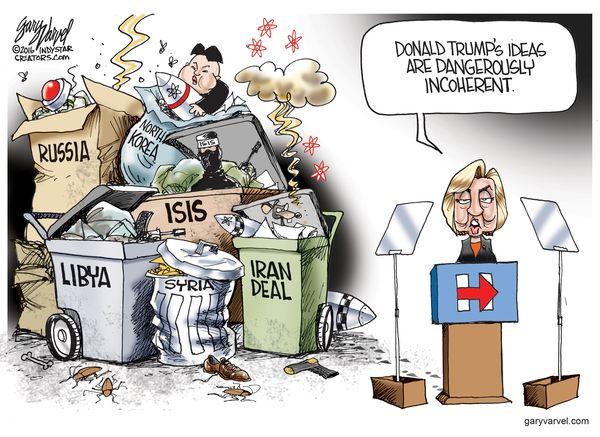 002 Cartoons Gary Varvel for June 6, 2016 Political