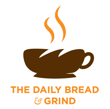This is a logo for a fictitious coffee shop called The Daily Bread & Grind known for their fresh coffee that is daily grinned and baked bread. I wanted to represent this two elements the company specialize so I combined the cup and bread in a metaphoric way