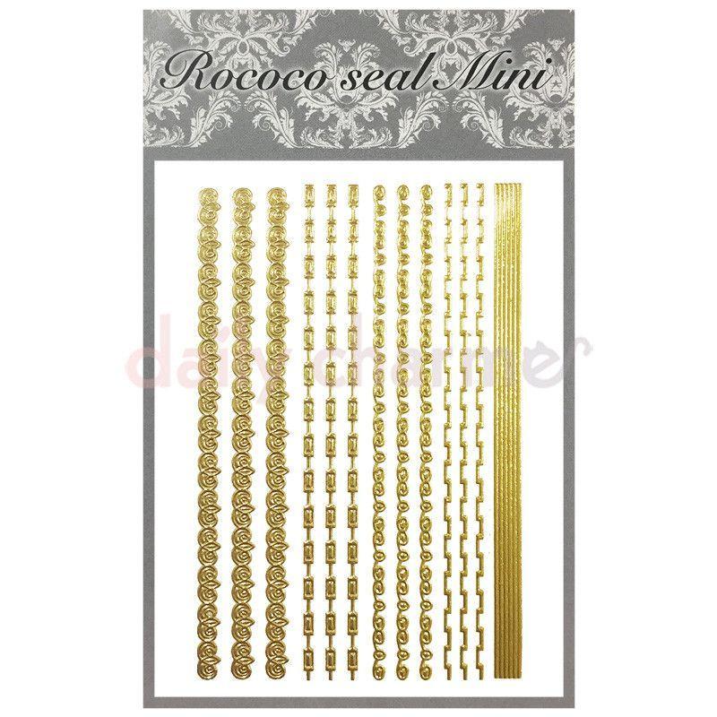 Rococo Japanese Nail Art Sticker / Chains | Japanese nail art, Nail ...