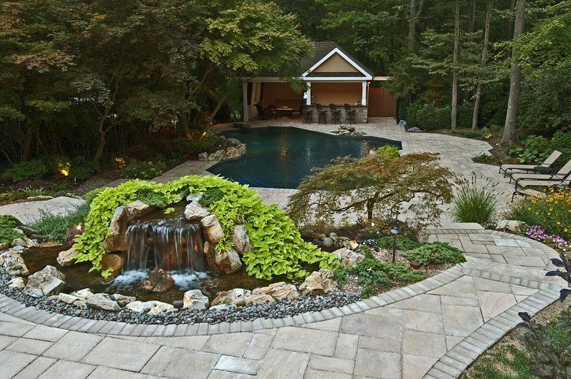 Award Winning Backyard Retreat Includes Portable Spa