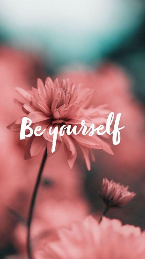 Be Yourself ☞☆ •Pinterest: #Yasholo  IG:@unreal_shakespeare •☆☜ #quo…