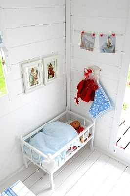 More playhouse the walls and floor decor ideas girls also best cubby house images garden tool storage inside rh pinterest
