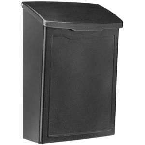 Architectural Mailboxes Marina Pewter Wall Mount Mailbox 2681p The Home Depot Wall Mount Mailbox Mounted Mailbox Architectural Mailboxes