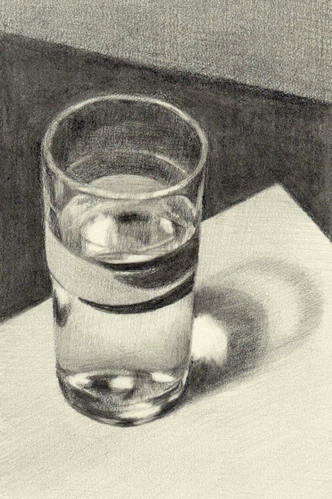 The Art Of Drawing Glass - | Design Principles- Value ...