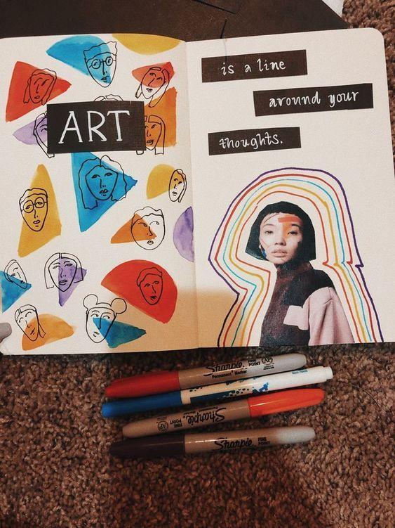 16 Ideas para hacer de tus apuntes una obra de art