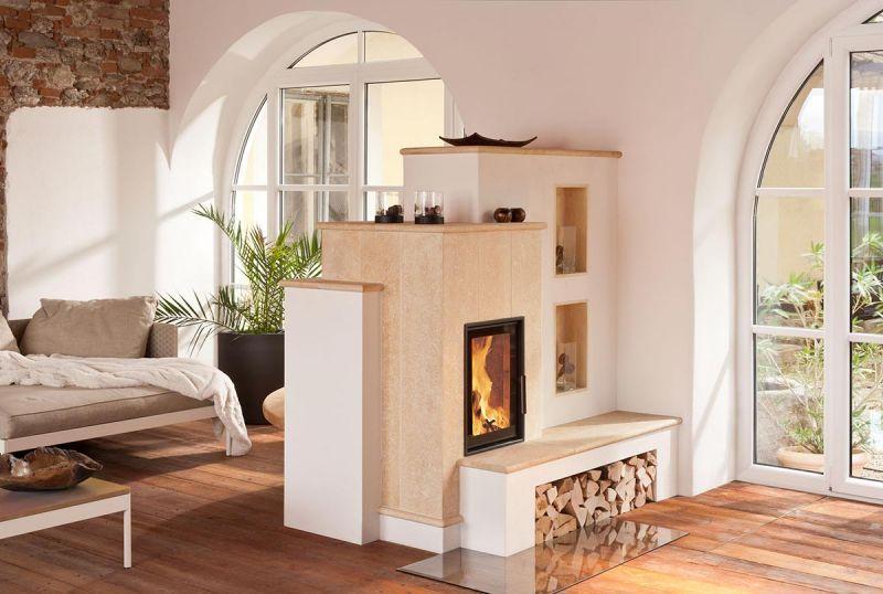 kachelofen als raumteiler gebaut von ok hafnermeister martetschl ger wohnen pinterest. Black Bedroom Furniture Sets. Home Design Ideas