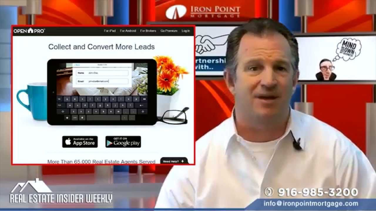 This week we talk about 6 Expert Secrets for the Self Employed to Be Approved for a home loan, Cassandra Becker Niklewski with Keller Williams Realty   Folsom joins us for a preview of a new listing, and we explore a paperless system to farm leads at Open Houses... Open Home Pro is free and is easy to set up and it'll take you paperless while farming listings. Oh, and you won't have to spend hours on end trying to decipher anyone's handwriting. Watch this video for all the ins and…